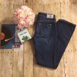 True Religion Johnny Straight Leg Jeans- Size 27
